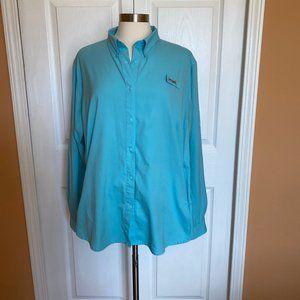 Columbia sportswear PFG convertible shirt 2XL